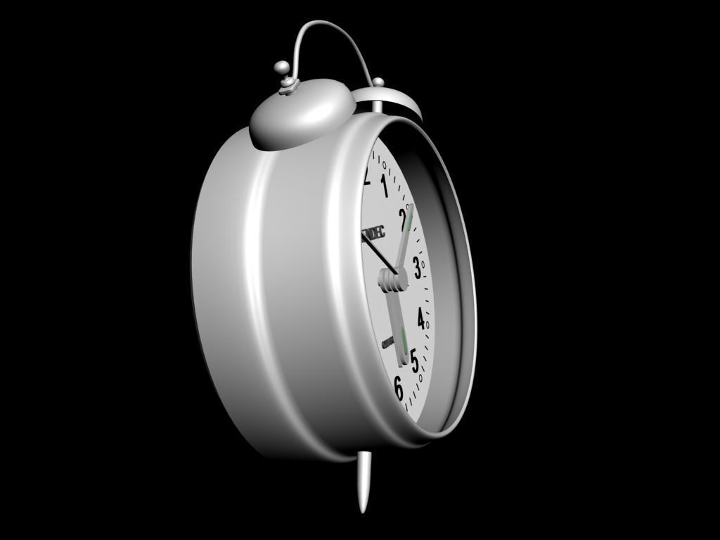 用 3dmax 怎么画 闹钟