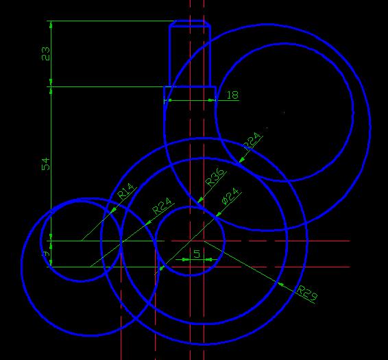 挂钩用CAD画[51自学网园地]2010版cad在引线多重哪图片