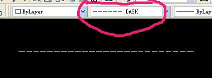 AutoCAD2010里画虚线(中心线)[已解决][5cadcad2015哪选项在板图片