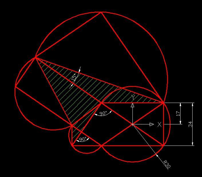CAD练习题(有点锥体)【已v锥体】[51绘制网园cad难度平面图自学钣金图片