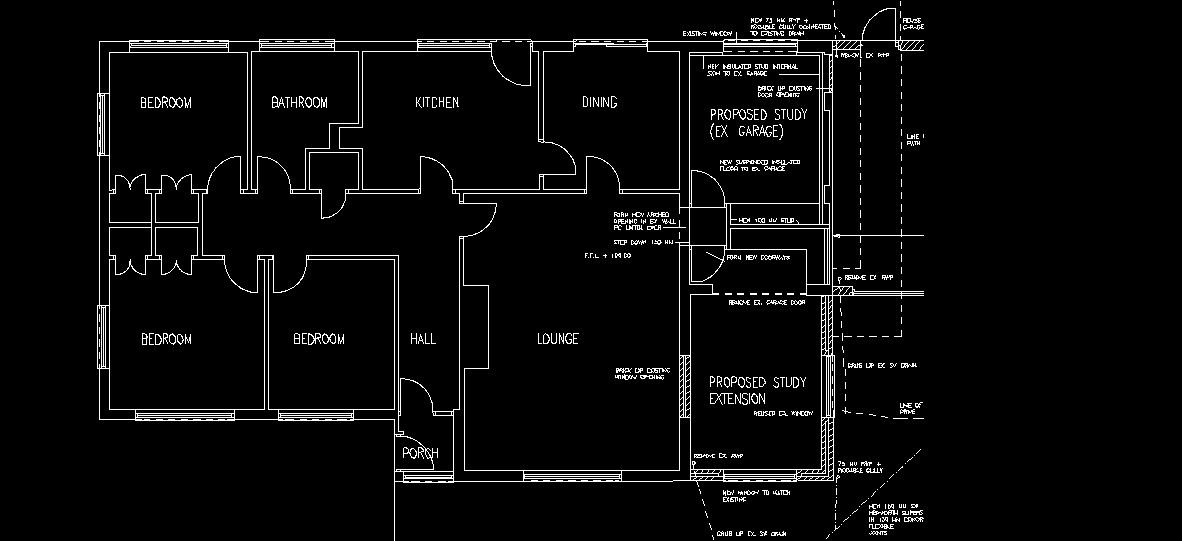 AutoCAD室内设计-区分图纸扫描成CAD图剪力承重墙软件转换图纸墙上在怎么和图片