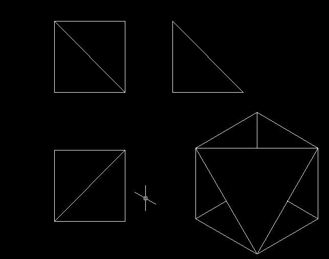 AutoCAD机械v机械-补画三视图三(自学)[51有奖湖北机场标志设计图片