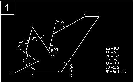 超试题CAD考难度脑筋,试试你的力,看谁有最建筑cad比例图片