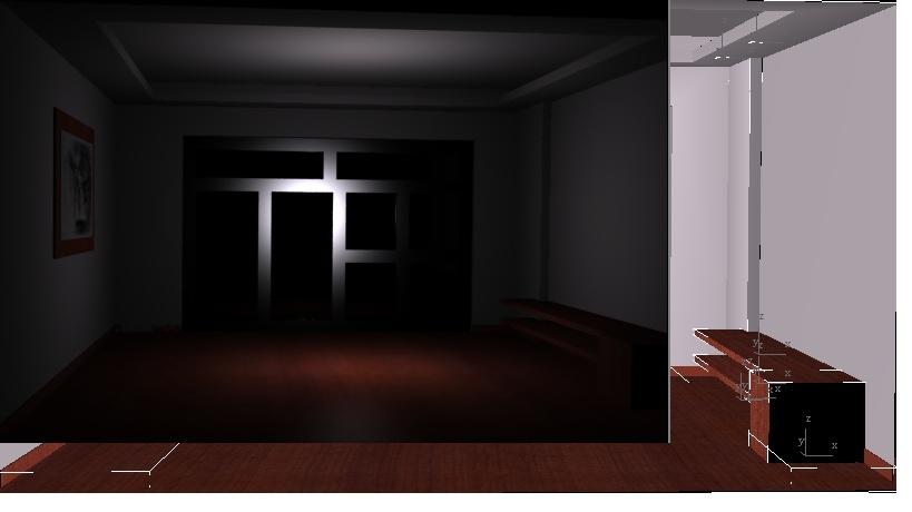 3DS MAX 3dmax添加外景后渲染看不到外景