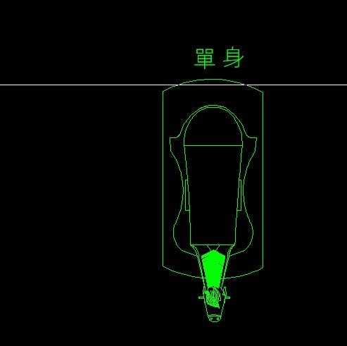 刚刚试着画的一个CAD平面木马的模型大家PP软启动器cad图图片