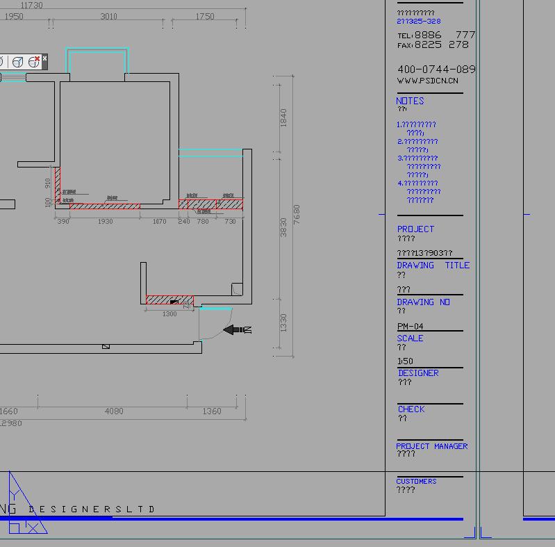 cad图框里的文字都不显示了[51显示网园地]cad左边自学栏框不命令图片