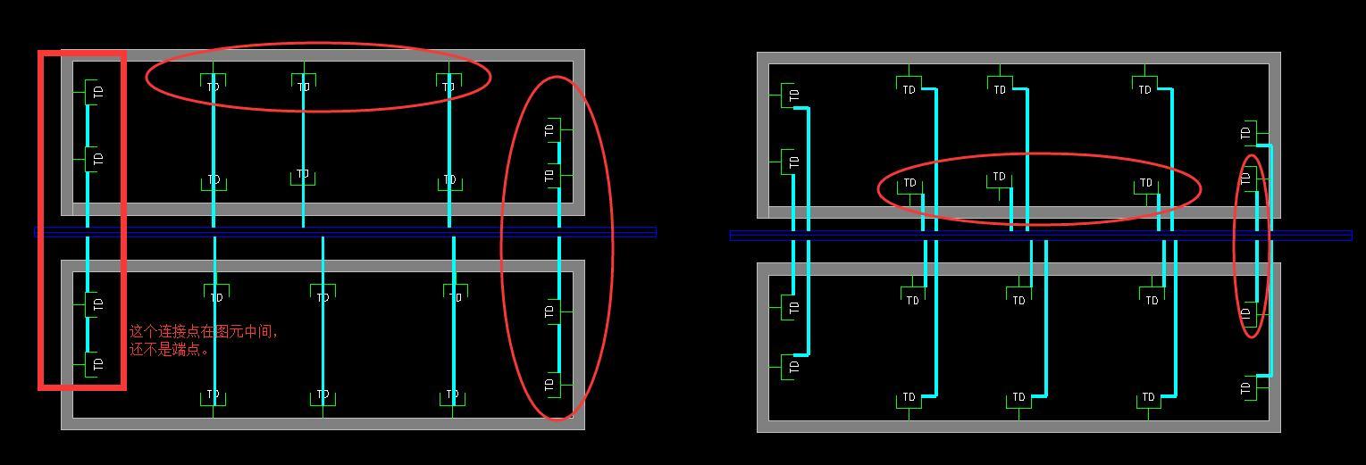 桥架电气弱电连接,图元连接点非天正设置v电气图纸不锈钢办公软件图片