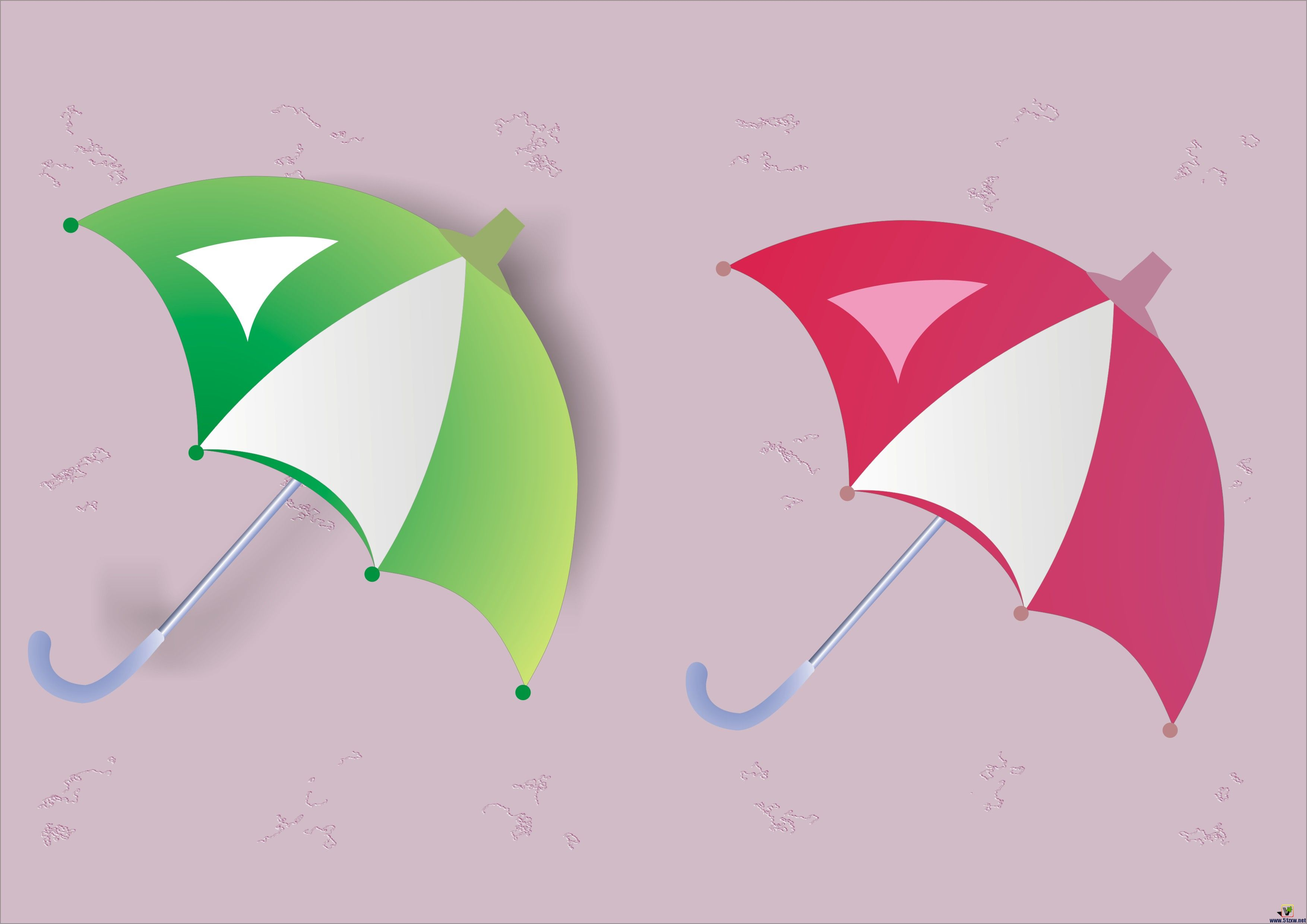 雨伞的制作[51自学网园地]