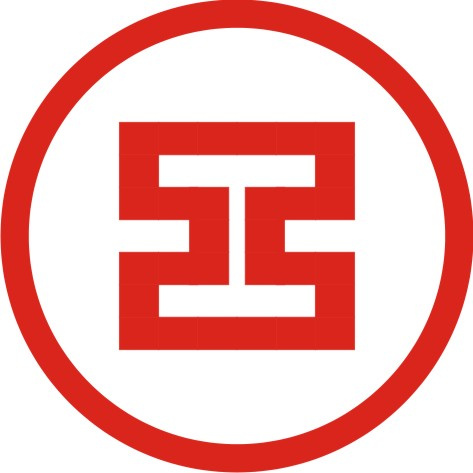新手用CorelDRAW做工商银行标志