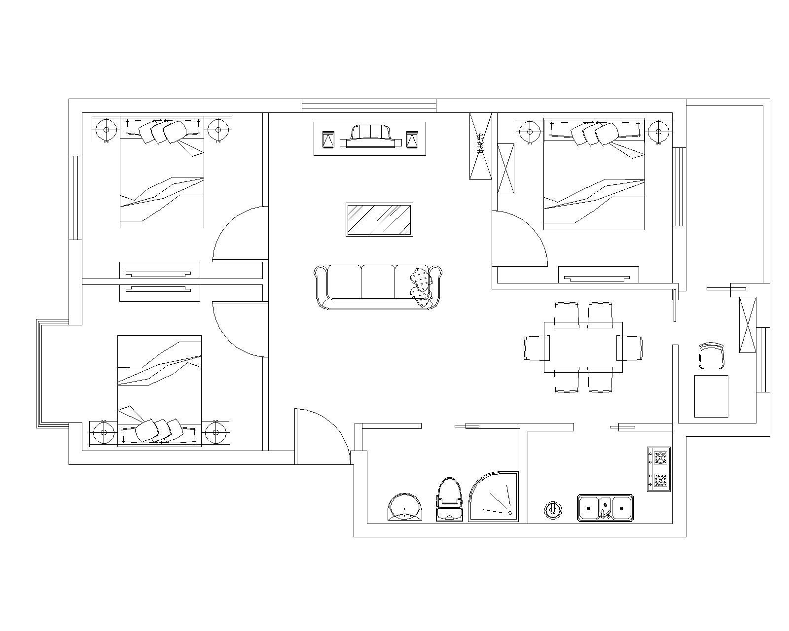 室内平面图[51自学网园地]