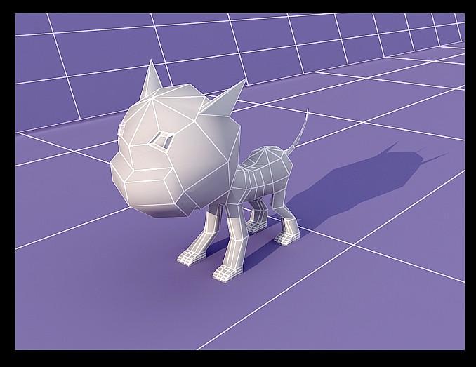 自己做的几个小动物模型(要模型问我拿)