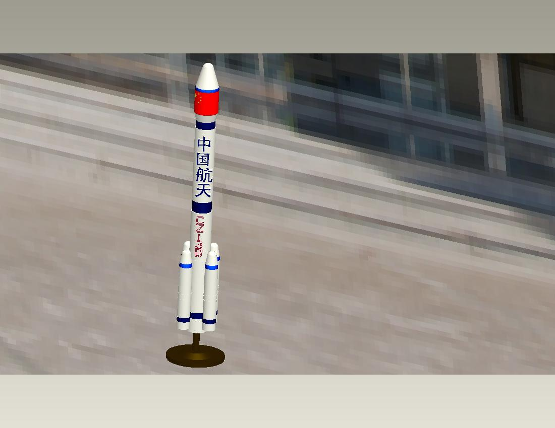 火箭模型[51自学网园地]