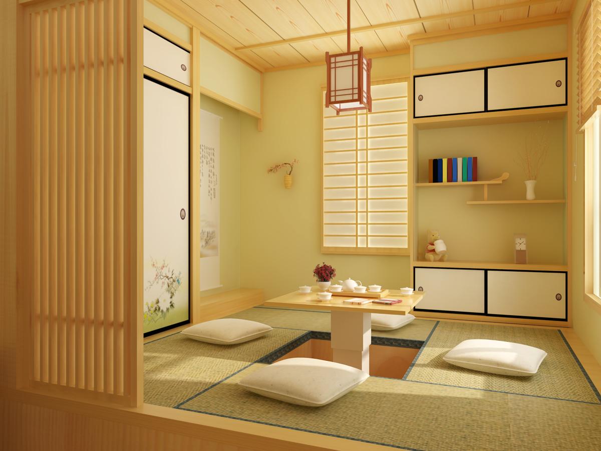 室内展板  日式风格