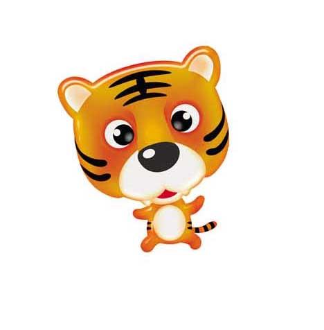 虎年可爱的小老虎来了
