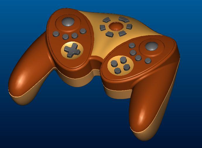 游戏机手柄造型