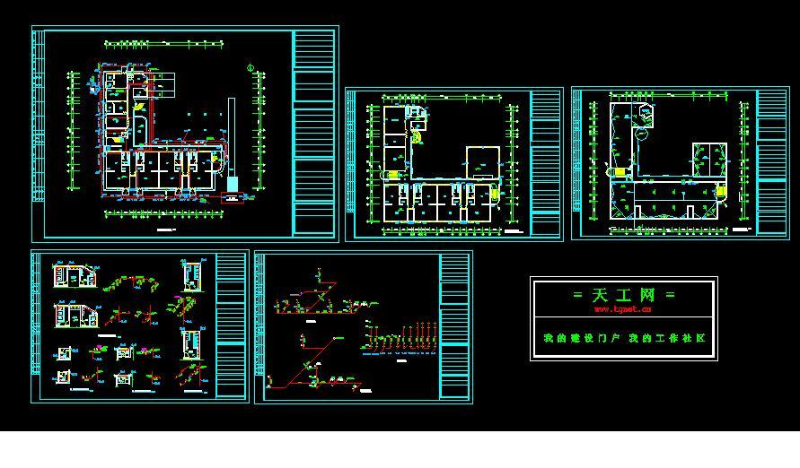 室内水路电路图
