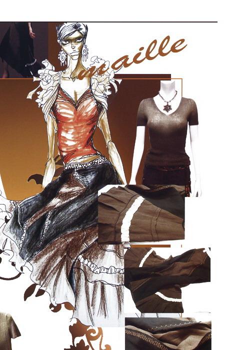 服装设计时装画与效果图[51自学网园地] -- powered