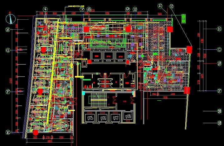AutoCAD室内设计-CAD中下面这张图弄[5天正cad不显示为什么标高图片