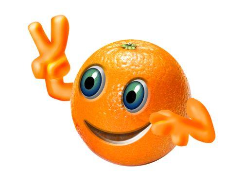 photoshop设计橙子冲浪图