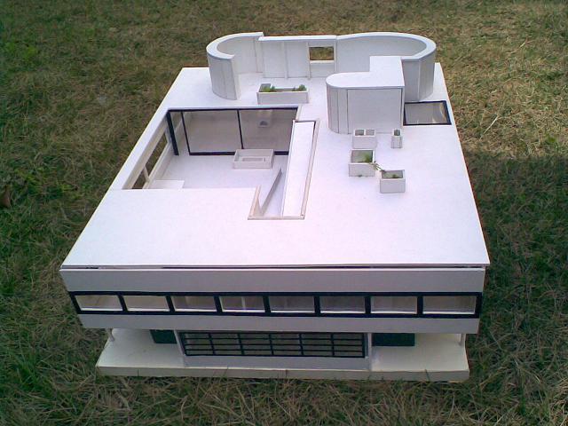 手工制作的建筑模型(建筑系)