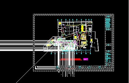 CAD里面将一个图粘贴标注到另外一个图里面cad选全部复制图片