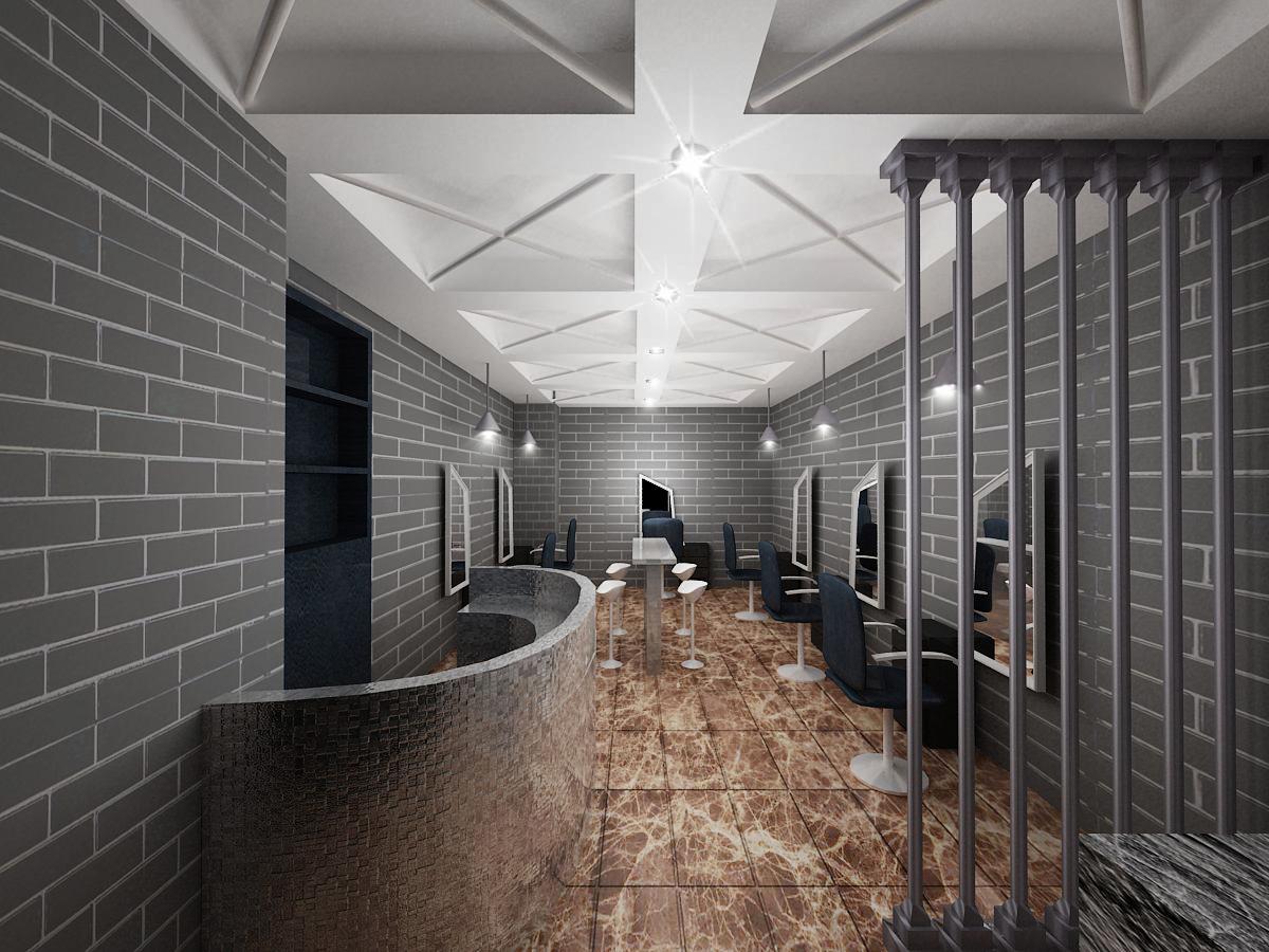 室内外设计作品展示区