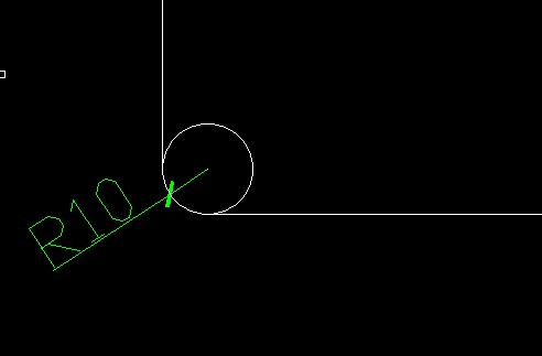 cad倒圆角命令和画圆相切,相切,半径的区别是什么?[51自学网园地]