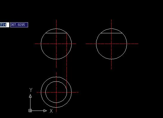 AutoCAD园地v园地-补画三视图[51自学网机械]平面设计创意简历怎么做图片