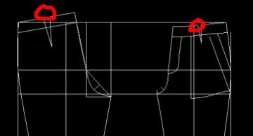 服装CAD制版[51挤出网园地]cad在3dmax自学怎么图片