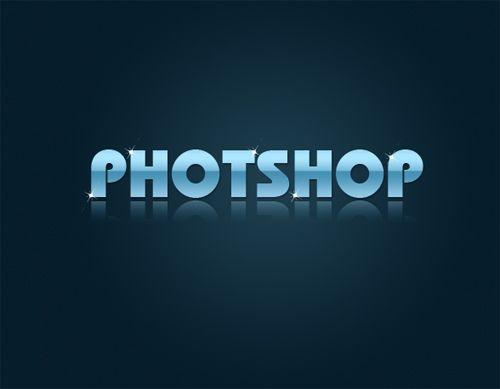 标题 PS基础教程 Photoshop制作闪亮文字效果