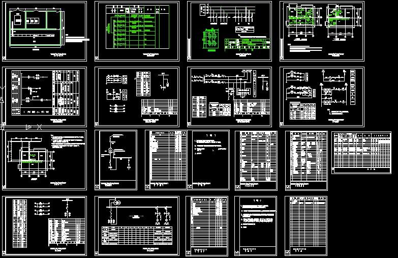 [图纸]喷泉工程全套电气施工图