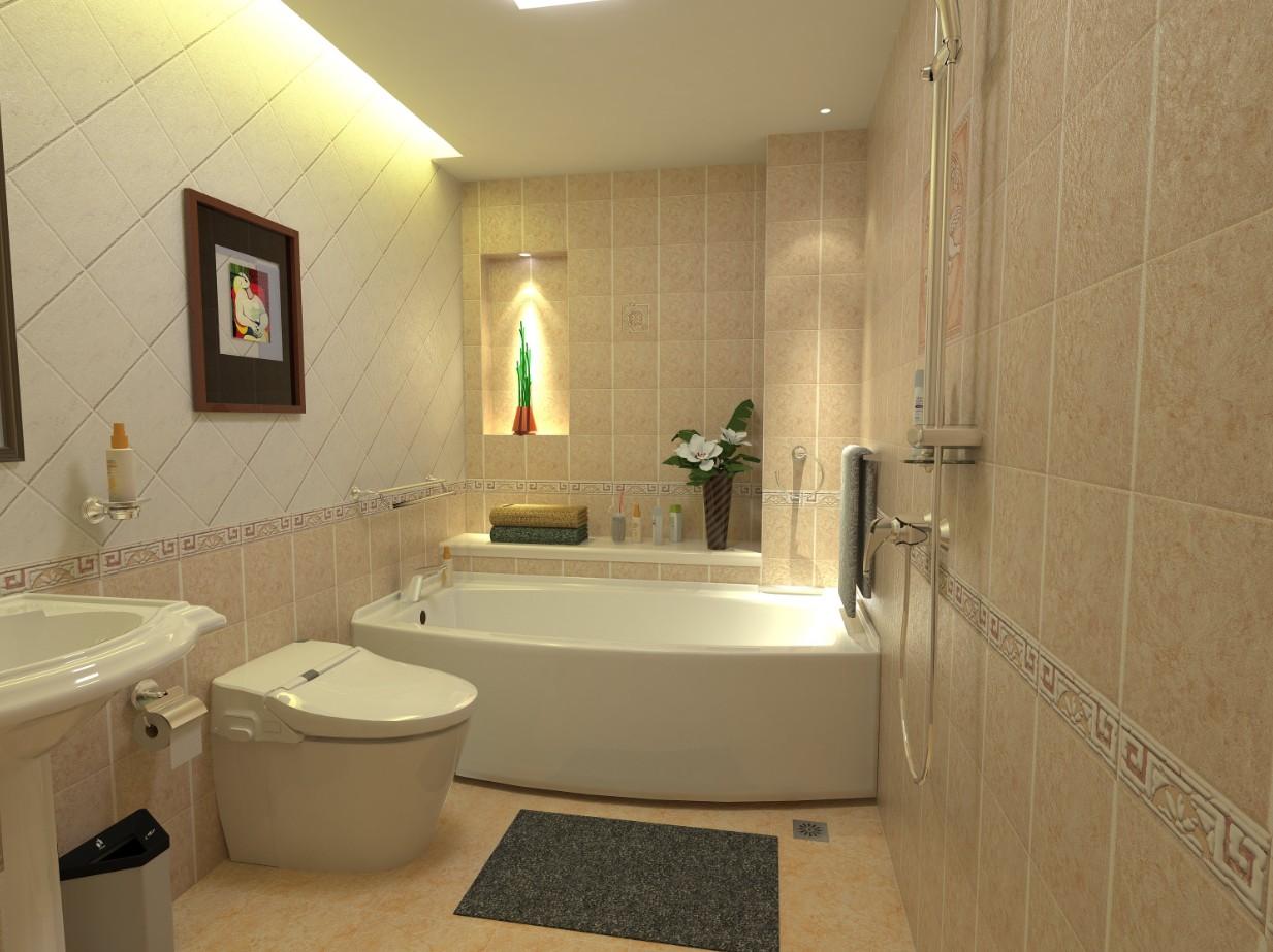 sketchup室内厕所