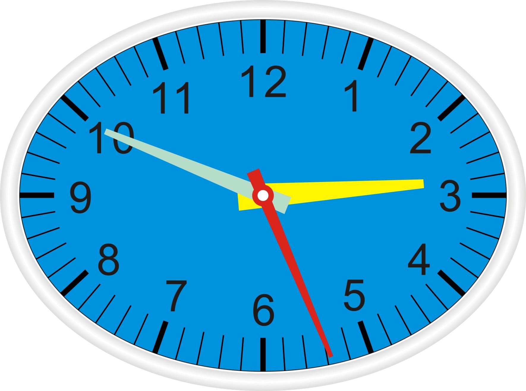 cdr制作的椭圆形钟表