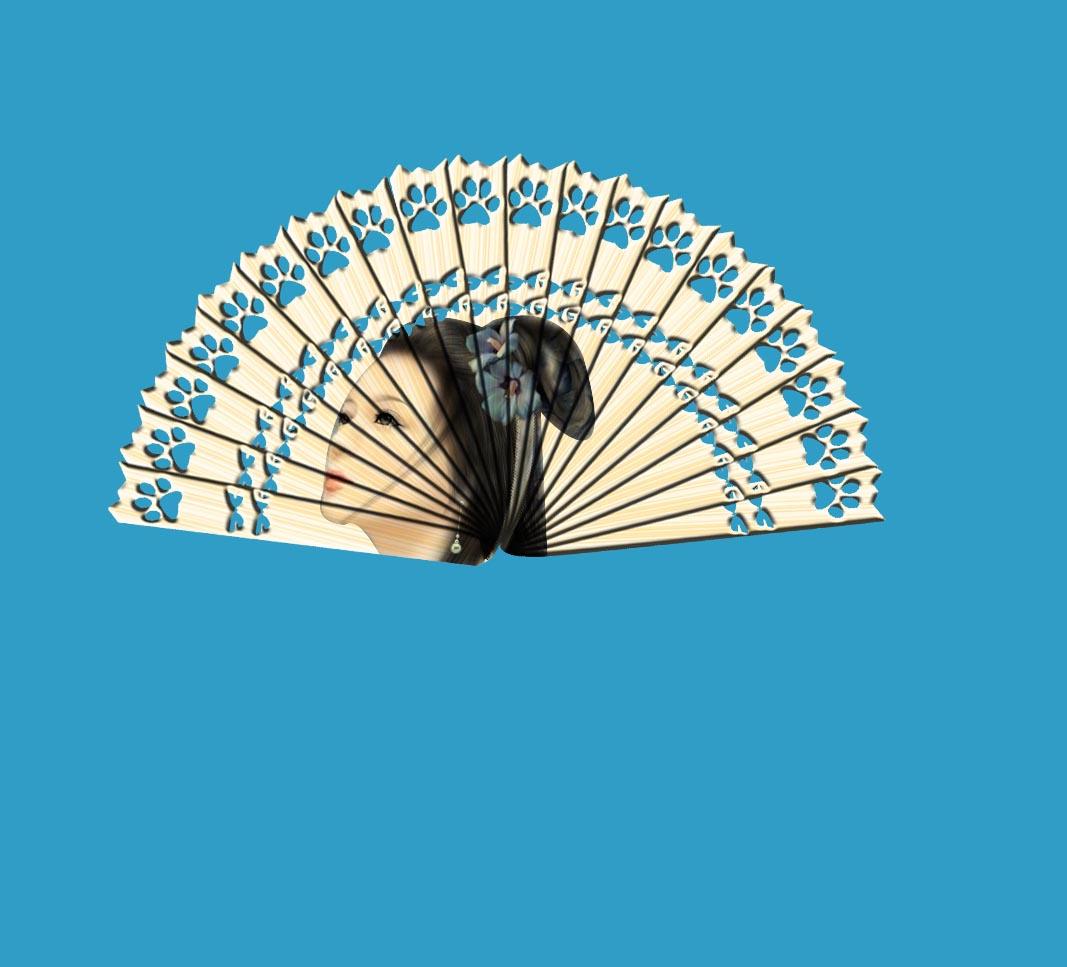 古风木质扇子的制作(教程)