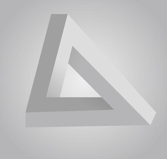 矛盾空间三角形
