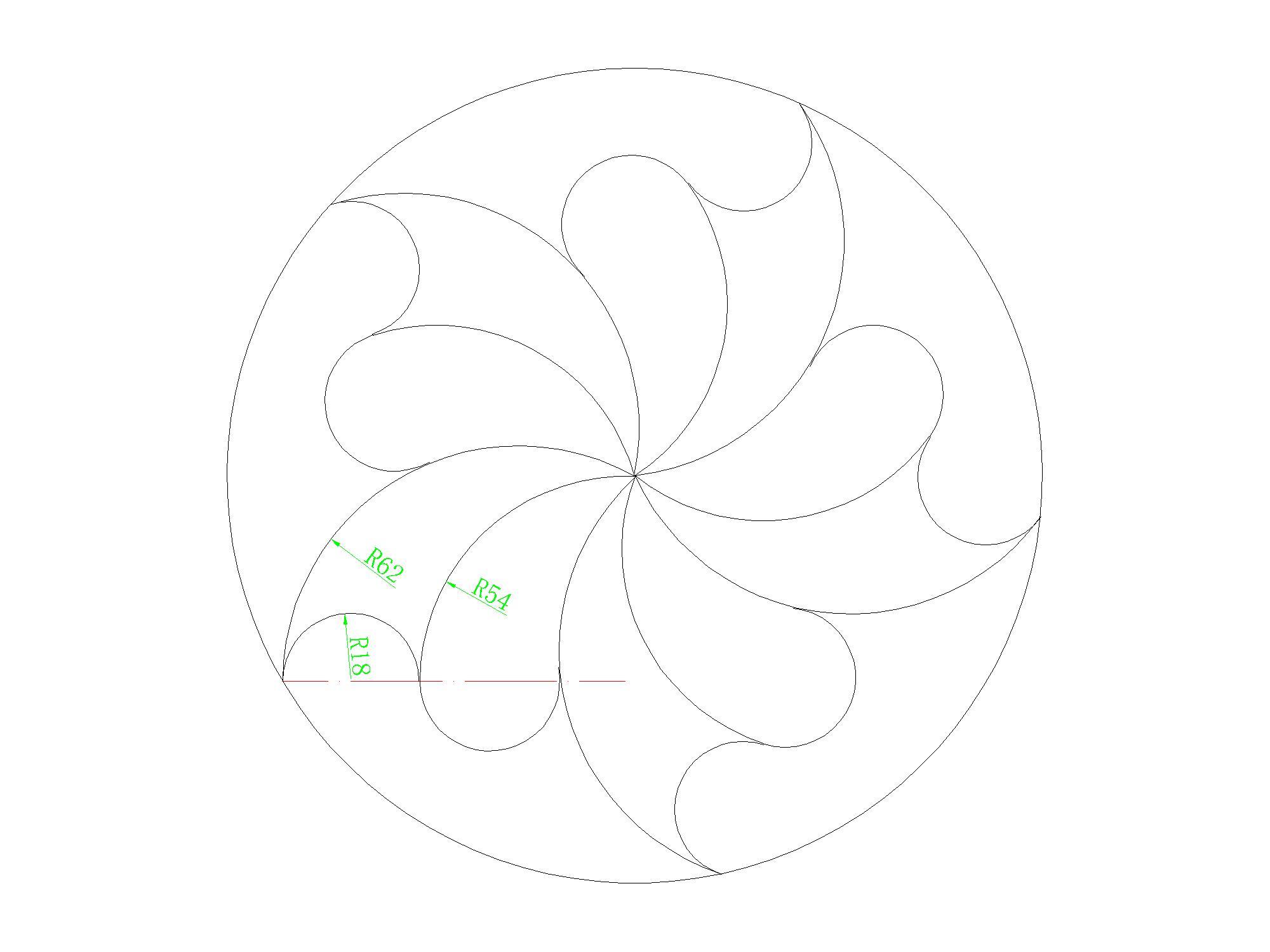【求助】CAD初级练习贴里边,这些图纯粹无思cad动态的块制作图片
