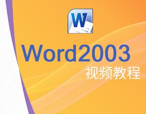 Word 2003视频教程