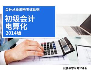 初级会计电算化教程(2014版)