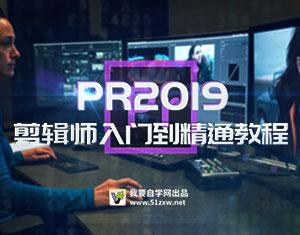 PR2019剪辑师入门到精通教程