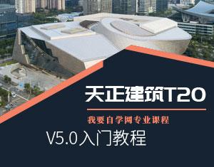 天正建筑T20V5.0教程