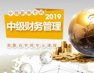 中级财务管理2019教程