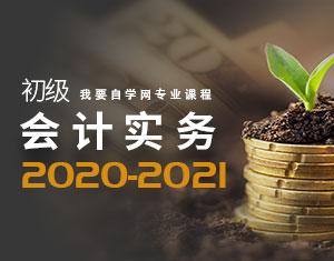 初级会计实务教程2020