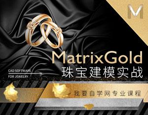 MatrixGold珠宝建模实战教程