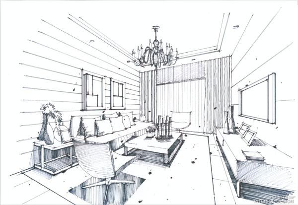 室内设计手绘速成班第一期