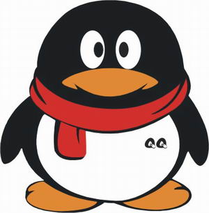 047腾讯qq品牌形象小企鹅标志cdr