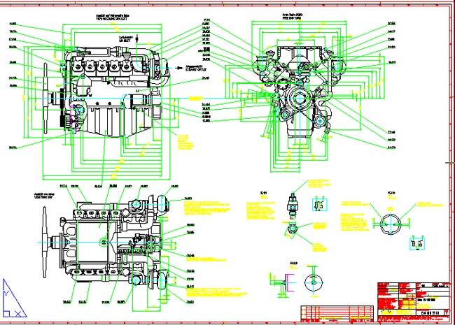 autocad机械设计图纸