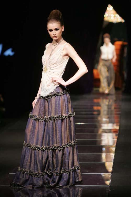 马艳丽服装设计作品-我要自学网