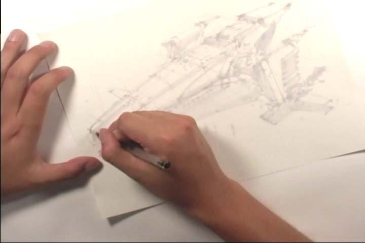 手绘设计流程欣赏-我要自学网